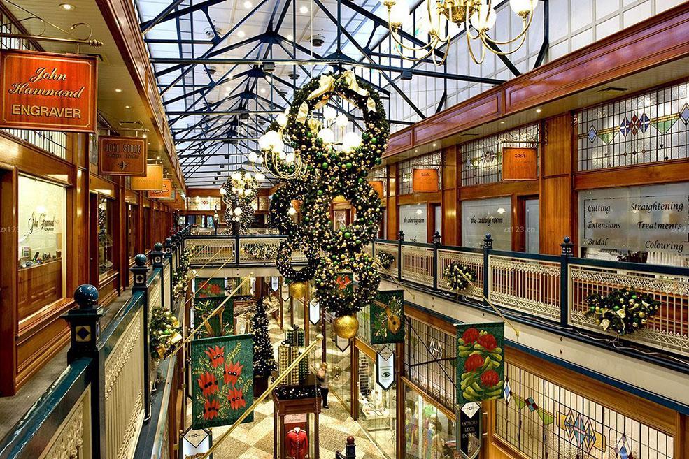 圣诞节商场美陈,圣诞节装饰设计